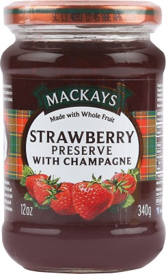Mackays Scottish Raspberry Preserve 340 g Jam(Pack of 1)
