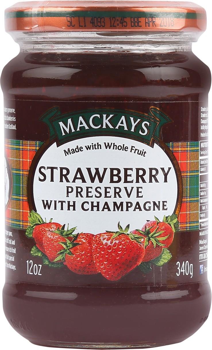 Mackays Scottish Raspberry Preserve 340 g Jam