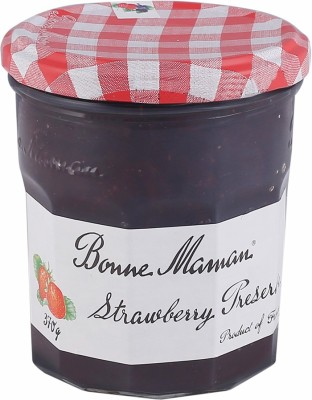 Bonne Maman Strawberry Preserve 370 g Jam(Pack of 1)
