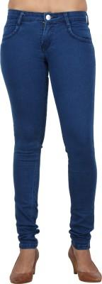 Teen-19 Skinny Fit Women's Dark Blue Jeans