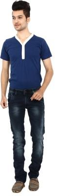 Carbon Slim Fit Men's Blue Jeans