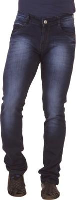 Race-Q SLIM Fit Men's Blue Jeans