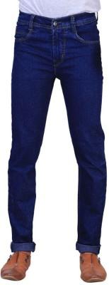 Masterly Weft Regular Men's Blue Jeans