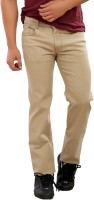 Base6 Jeans (Men's) - Base6 Slim Men's Beige Jeans