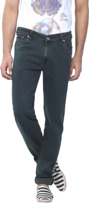 Excess Comfort Fit Men's Green Jeans