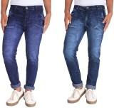 Bdow Slim Men's Dark Blue Jeans (Pack of...