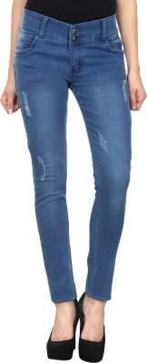 Avarice Slim Fit Women's Blue Jeans