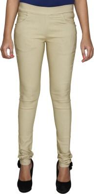 RJC Slim Women's Beige Jeans