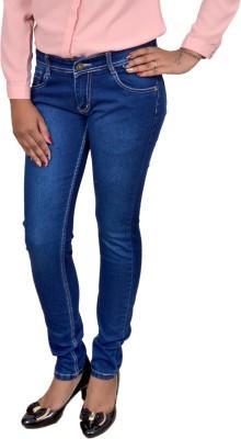 SIESTA Slim Fit Women's Blue Jeans