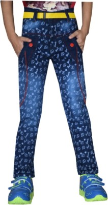 Tara Lifestyle Slim Fit Boy's Blue Jeans