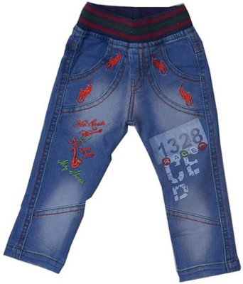 Yes Zone Regular Fit Boy's Blue Jeans