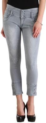 Cali Republic Skinny Fit Women's Grey Jeans