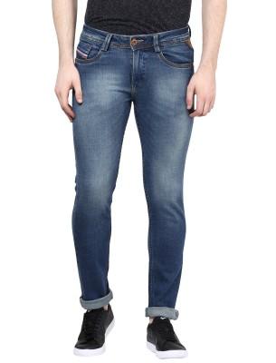 CODE 61 Slim Fit Men's Dark Blue Jeans