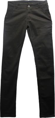 Norwood Garments Slim Fit Boy's Brown Jeans