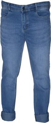 L,Zard Narrow Fit Men's Blue Jeans
