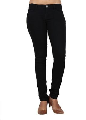 Teen-19 Skinny Fit Women's Black Jeans