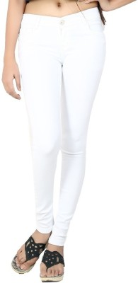 Logus Slim Fit Women's White Jeans