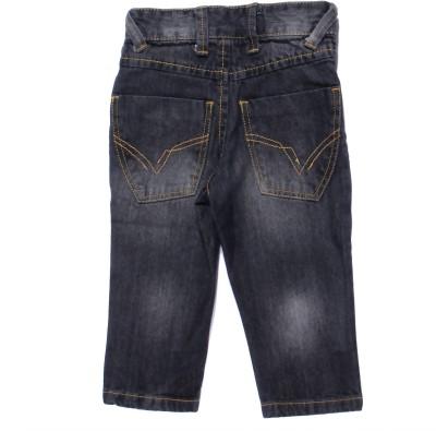 Coffee Bean Slim Fit Boy's Black Jeans