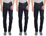 BT Slim Men's Black Jeans (Pack of 3)