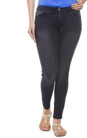 Addyvero Slim Women's Black Jeans