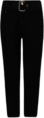 Jazzup Regular Fit Boy's Black Jeans