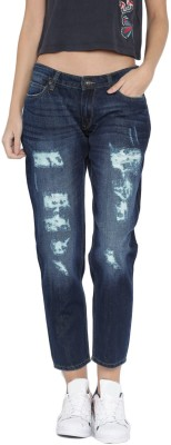 Roadster Regular Women's Blue Jeans at flipkart
