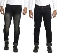 Vrgin Jeans (Men's) - Vrgin Slim Men's Multicolor Jeans(Pack of 2)