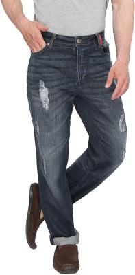 Again? Vintage Slim Fit Men's Grey Jeans