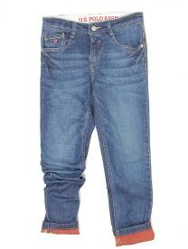 U S Polo Kids Slim Boys Blue Jeans