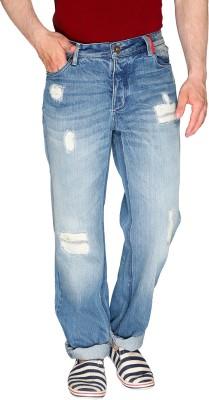 Again? Vintage Slim Fit Men's Light Blue Jeans