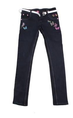 Tiny Toon Slim Fit Boy,s Black Jeans