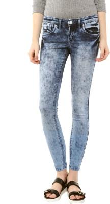 Urban Navy Skinny Women's Blue Jeans at flipkart