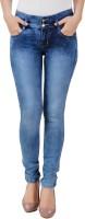 Purple Feather Jeans (Men's) - Purple Feather Skinny Men & Women Blue Jeans