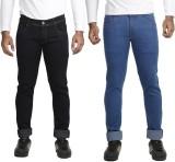 V S Fashion Slim Men's Blue, Black Jeans...