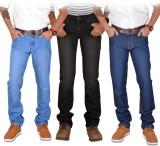 American Indigo Slim Men's Multicolor Je...
