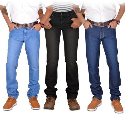 American Indigo Slim Fit Men's Multicolor Jeans