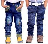 AD & AV Regular Boys Blue Jeans (Pack of...