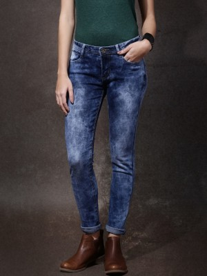 Roadster Slim Women's Blue Jeans at flipkart