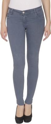 NJ's Skinny Women's Grey Jeans at flipkart