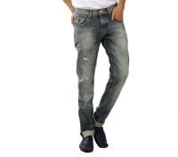 Spike Denim Co Jeans (Men's) - Spike Denim Co Slim Men's Grey Jeans