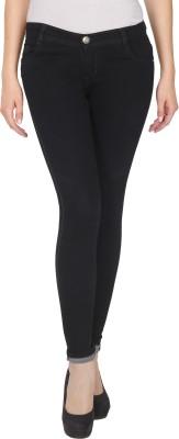 NJ's Skinny Women's Black Jeans at flipkart