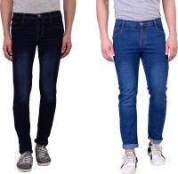 London Looks Jeans (Men's) - London Looks Regular Men's Multicolor Jeans(Pack of 2)