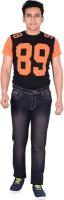 Leetos Jeans (Men's) - LEETOS Regular Men's Brown Jeans