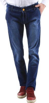 Orizzonti Slim Fit Men's Blue Jeans