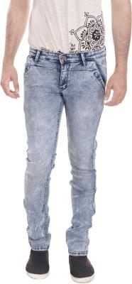 Kalrav Slim Fit Men's Blue Jeans