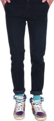 FashionDeck Slim Fit Men's Black Jeans