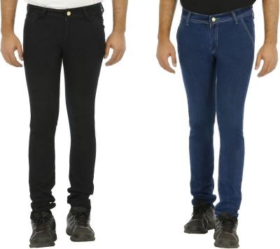 Urbano Fashion Slim Fit Men's Blue, Black Jeans