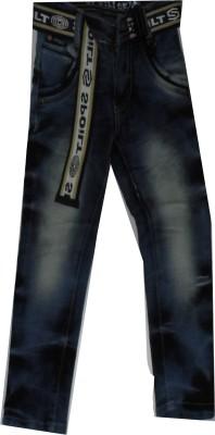 Baby's World Regular Fit Boy's Blue Jeans