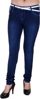 Zrestha Skinny Fit Women's Dark Blue Jeans