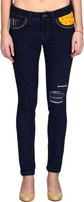 Indie Jeans Slim Fit Women's Blue Jeans